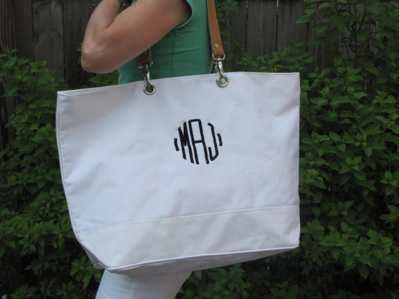 My Ballard Designs beach bag
