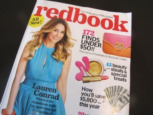 Looking for a new fashion read? Check out Redbook's makeover and the fun and affordable fashion and decor items the magazine is featuring now.