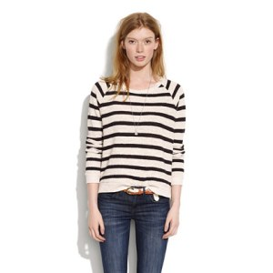 Madewell Pullover - $62 (This is already sold out online but you may still be able to find it in store.)