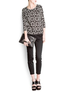 Mango Ikat Sweater - $49.99