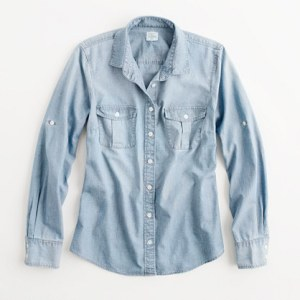 A chambray shirt can be an amazingly versatile workhorse for your wardrobe.