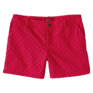 Target - Eyelet Shorts/$18