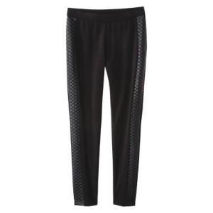 Mossimo Ponte Ankle Pant - Target ($19.99) - Check out that great quilted side detail!