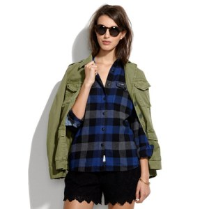 Penfield Chatham Buffalo Plaid Flannel Shirt - Madewell ($80)