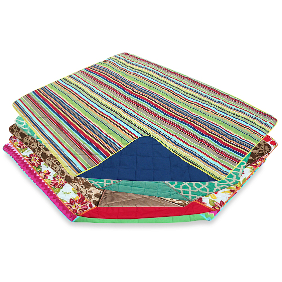 It's on my to-do list to get an all-weather blanket for beach trips, park playdates, etc.